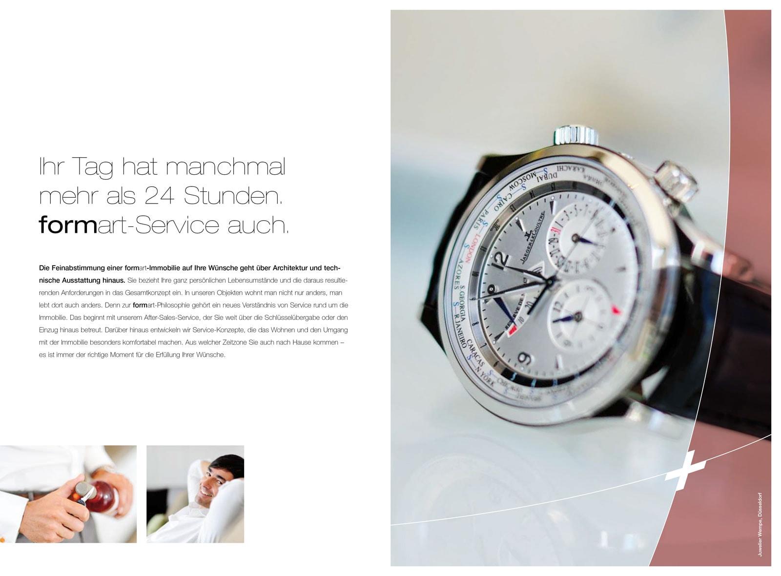 Foto einer sehr teuren Armbanduhr
